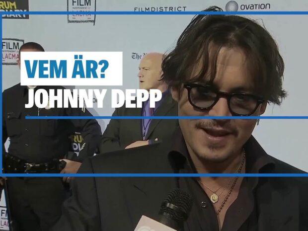 Det här är Johnny Depp