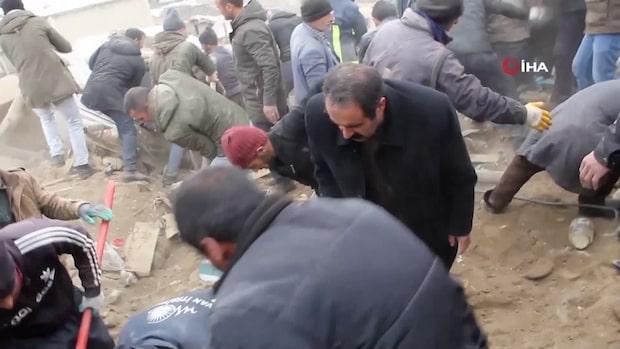 Flera döda efter jordbävning i Turkiet