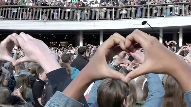 Här är folkets hyllning till Avicii