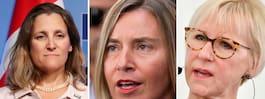 Världens kvinnliga ministrar  samlas för första gången