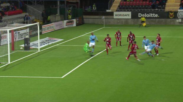 Rakip gör 1-0 för Malmö