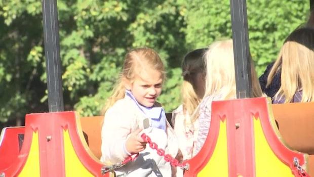 Så var prinsessan Estelles första skoldag