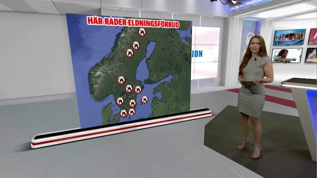 Väderspecial från Expressen TV