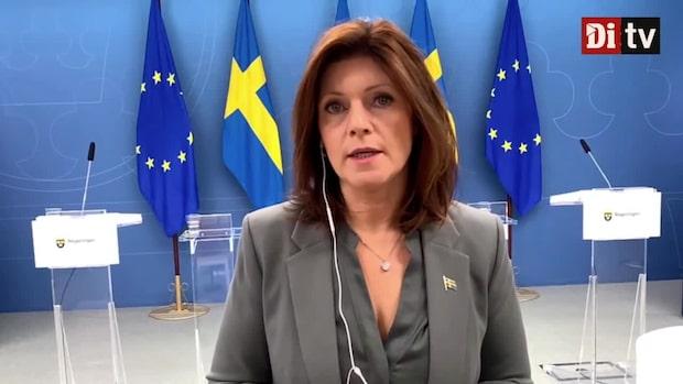 Arbetsmarknadsminister: Vi ska ändra lagstiftningen och arbetsrätten