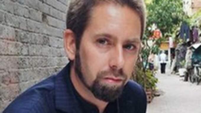 Peter Dahlin är henna igen efter att ha suttit fängslad i Kina sedan början av januari. Foto: Privat