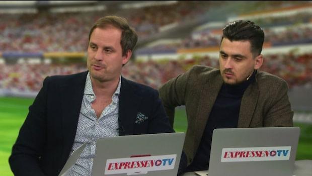 Zlatan knäskadad när United gick vidare till EL-semi