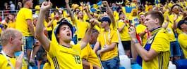 Legendarens stridsrop till de svenska fansen