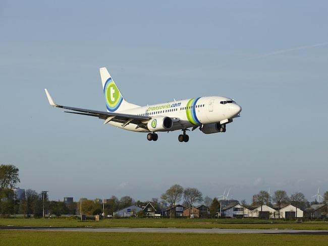 Transavia Airlines är ett lågprisflygbolag med bas i Nedeländerna.