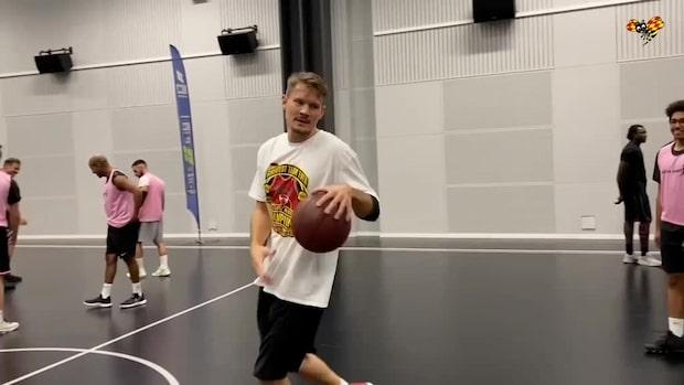 """De Vet Du-stjärnan aktuell för basketligan efter filmen: """"Sugen"""""""
