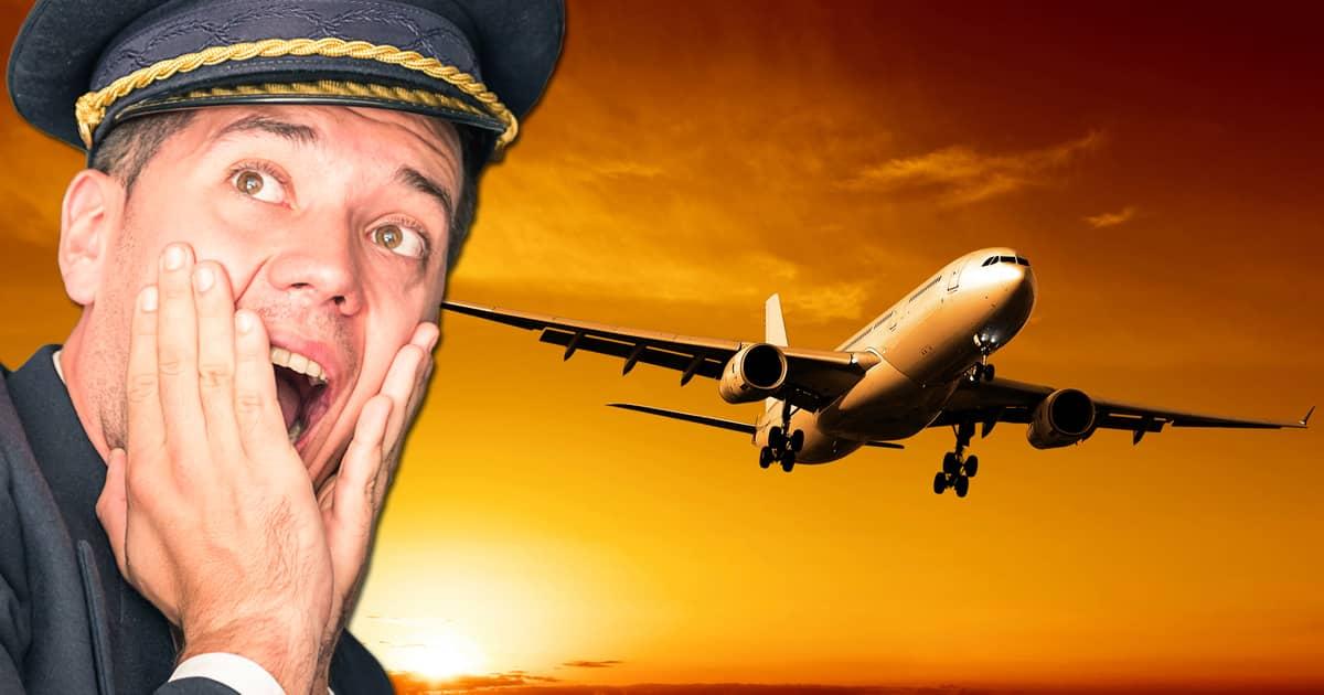 Kaptenen rapporterade om turbulens