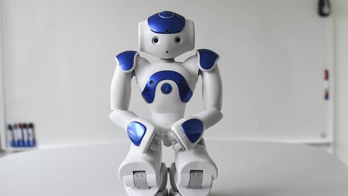 Människan kan inte vinna på robotar med skatter. Foto: JENS CHRISTIAN