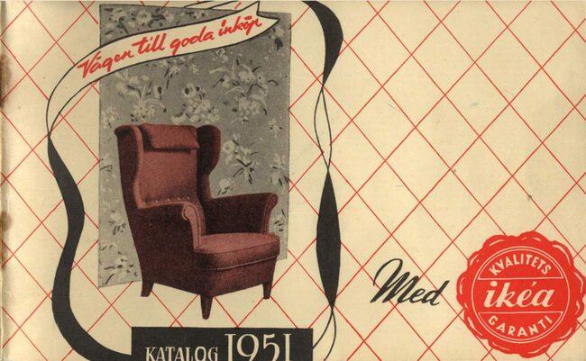 Ikea var först ett vanligt postorderföretag, men 1951 ändrade man om och började ägna sig åt att sälja enbart möbler och inredningsartiklar. Samma år kom deras första katalog, Ikea-nytt.