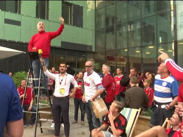 """Fansens ramsa: """"Zlatan är en jävla hjälte"""""""
