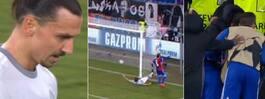 Chockförlust för Zlatans United