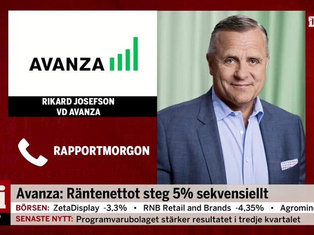 """Kraftigt vinstlyft för Avanza: """"Väldigt, väldigt bra"""""""