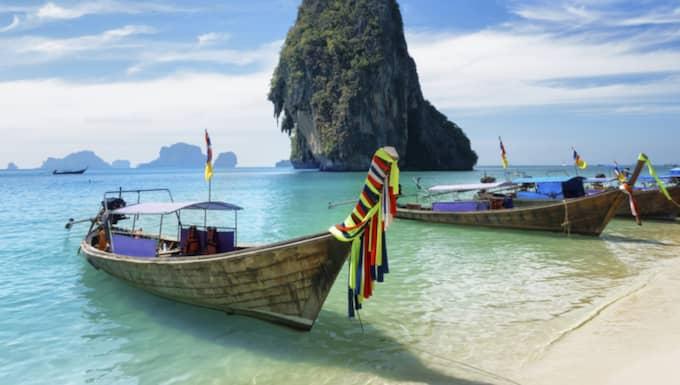 Samtidigt som paret fick bidrag så njöt de av livet i Thailand. Foto: Thinkstock