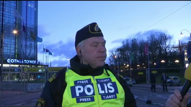 """""""Det krävs en omfattande polisoperation"""""""