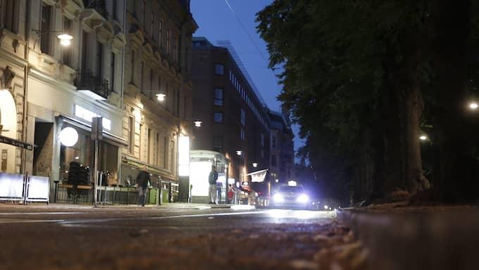 Ingen på bilden har med händelsen att göra. Knivskärningen ska ha skett i Vasastan i Göteborg. Foto: HENRIK JANSSON