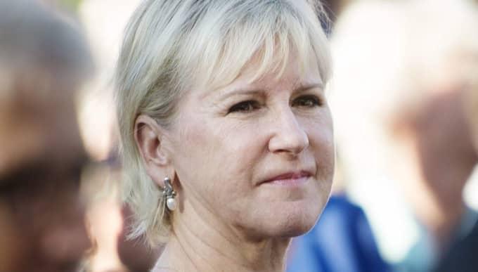 Margot Wallström spar inte på krutet när hon kritiserar regeringen. Foto: Izabelle Nordfjell