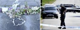 Uppgifter: Stenkastning mot man som mördades