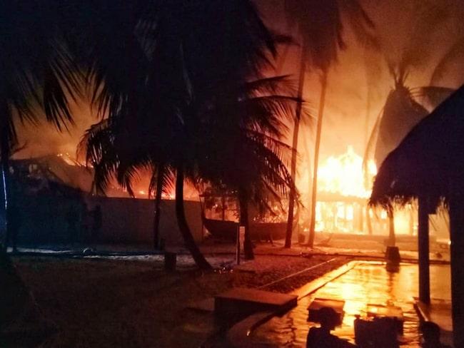 Flera bränder har även inträffat, bland annat på Gili Lankanfushi på North Malé Atoll.