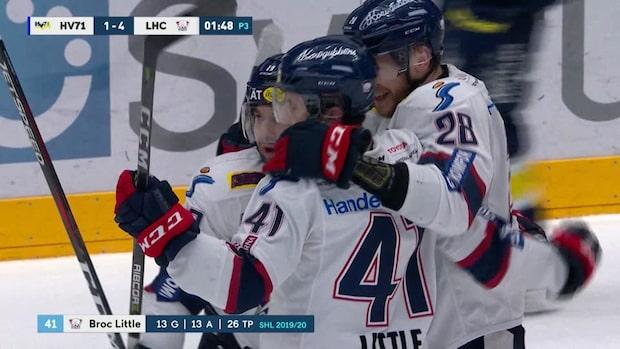 Höjdpunkter: Linköping bröt tunga trenden – spelade ut HV