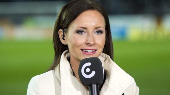 Camilla Nordlund i C More. Foto: CARL SANDIN / BILDBYRÅN