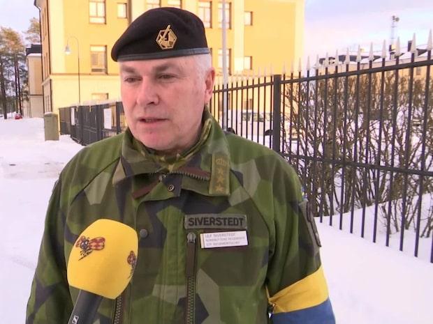 Ställföreträdande regementschef Ulf Siverstedt om olyckan i Boden