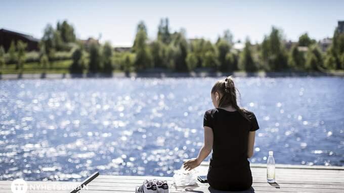 Götaland väntas få mycket sol måndag-torsdag. Sen är det mer osäkert... Foto: PAULINA HOLMGREN/TT / TT NYHETSBYRÅN
