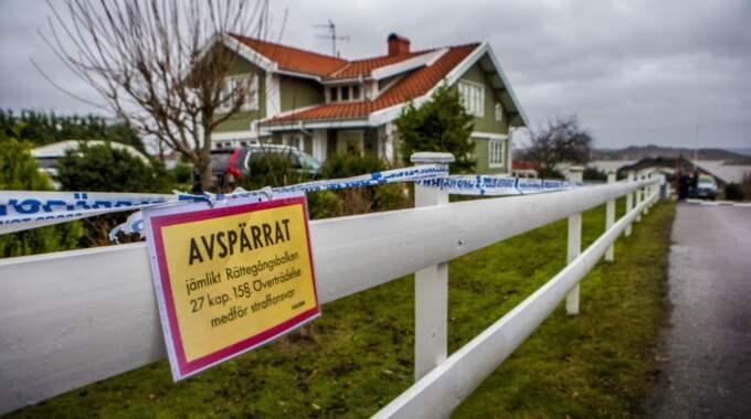 Här i området skedde det misstänkta mordet. Foto: Henrik Jansson