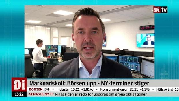 """Fredrik Warg: """"Känslig marknad just nu"""""""