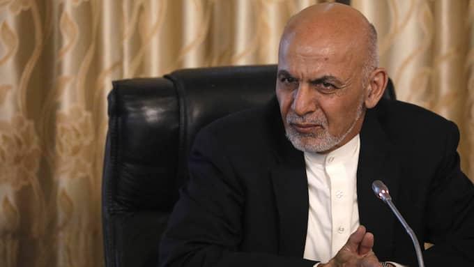 Afghanistans president Ashraf Ghani. Foto: JONATHAN ERNST