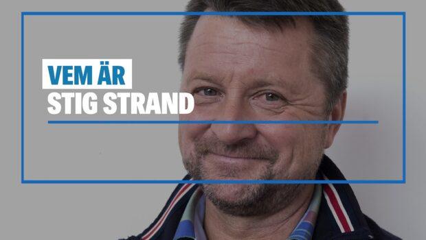 Stig Strand sadlade om – vigde Ingemar Stenmark