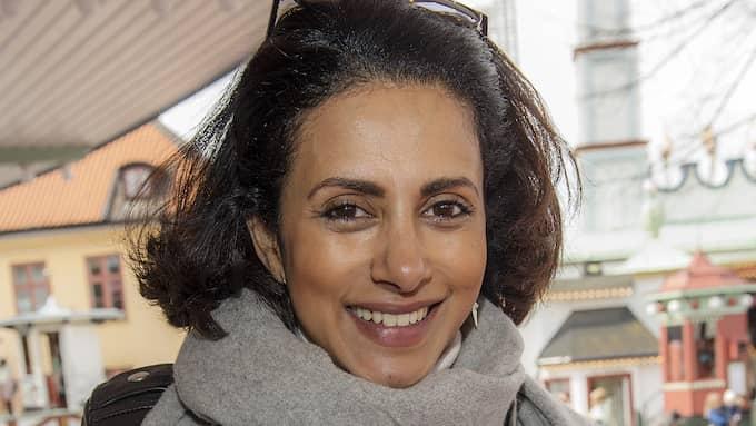 Anitha Schulman har gått vidare efter skilsmässan från Calle Foto: /IBL
