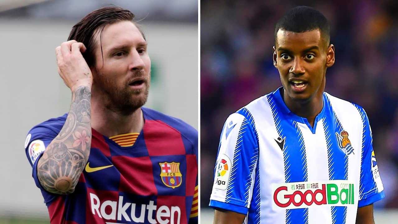 Siffrorna visar: Här är Isak bättre än Messi
