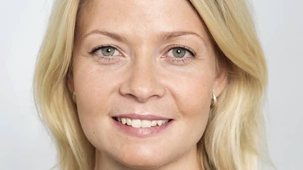 Josefine Uppling, presschef för Swedbank. Foto: Nordea