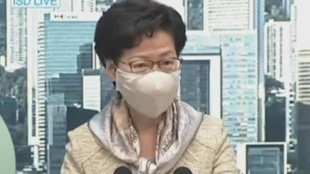 Trump inför sanktioner mot Hongkong-ledare