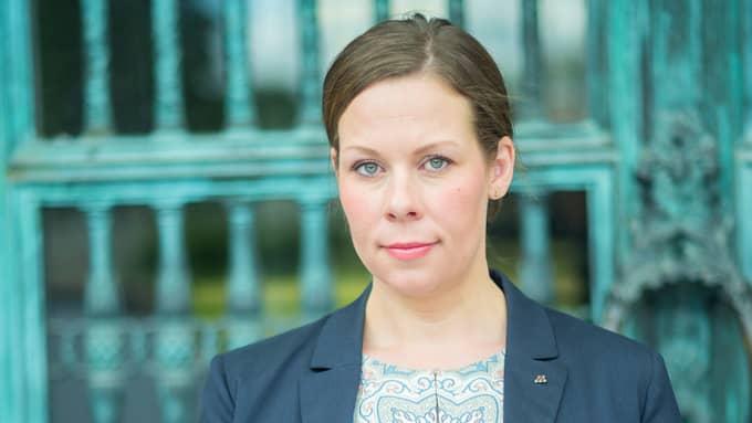 Maria Malmer Stenergard är Moderaternas miljöpolitiska talesperson. Foto: FREDRIK WENNERLUND