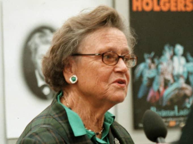Karin Söder var tidigt en av de mest inflytelserika kvinnliga politikerna i Sverige. Foto: Lennart Rehnman