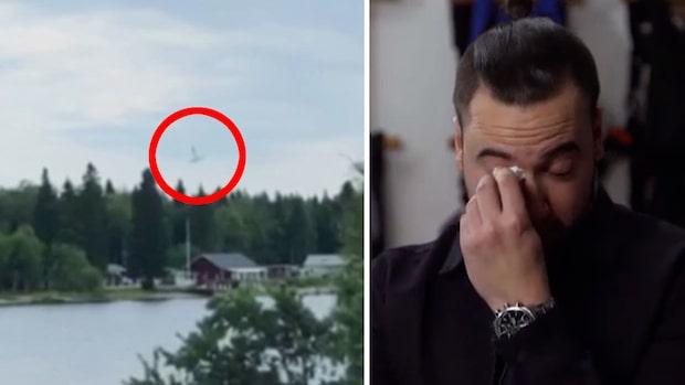 Navids tårar –vännerna dog i flygplanskraschen i Umeå