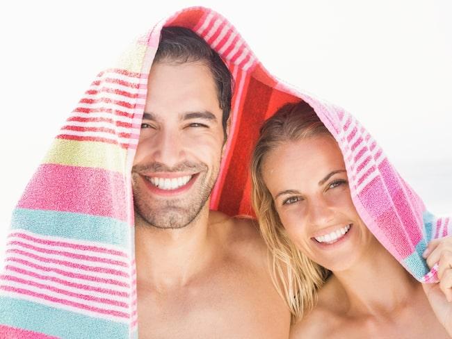 Bakterier älskar din fuktiga och varma handduk