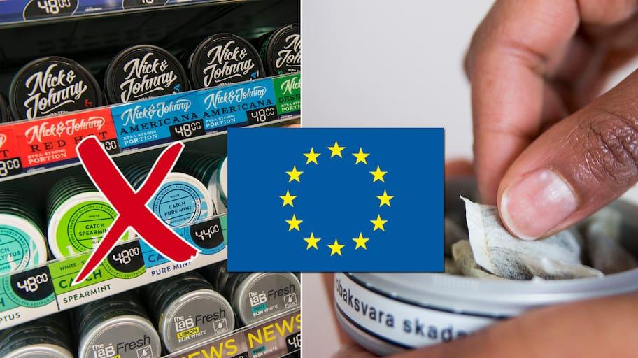 Sverige, EU och snuset har haft en laddad relation som