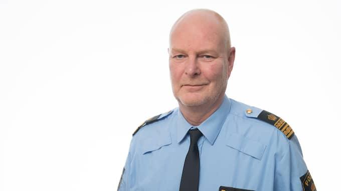 Kjell Olsson, lokalpolisområdeschef södra Fyrbodal. Foto: POLISMYNDIGHETEN