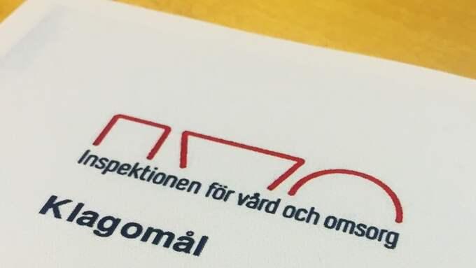 En lex Sarah-anmälan har lämnats in till IVO, Inspektionen för vård och omsorg. Foto: SANNA WIKSTRÖM
