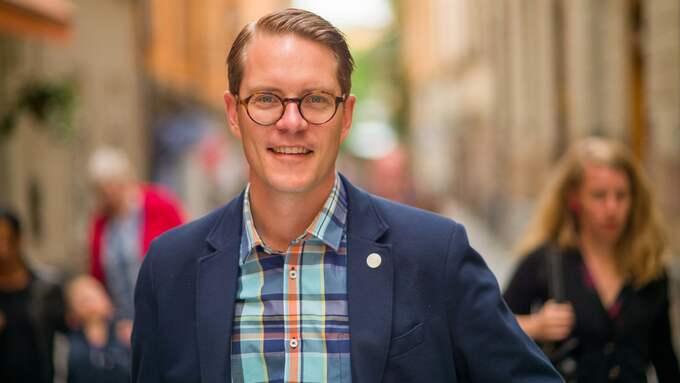 Lars Hjälmered (M), riksdagsledamot från Göteborg och näringspolitisk talesperson. Foto: PRESSBILD