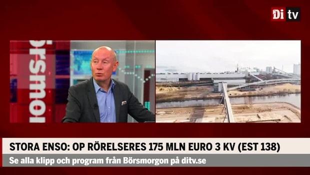 Stora Enso: Höjer mål för löpande besparingar till miljoner euro