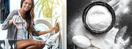 Så tvättar du lite renare – med vanlig bikarbonat