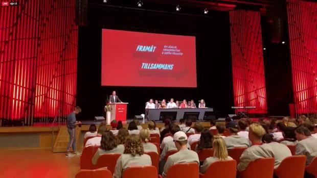 """Stefan Löfven: """"Klimatomställningen måste göras"""""""