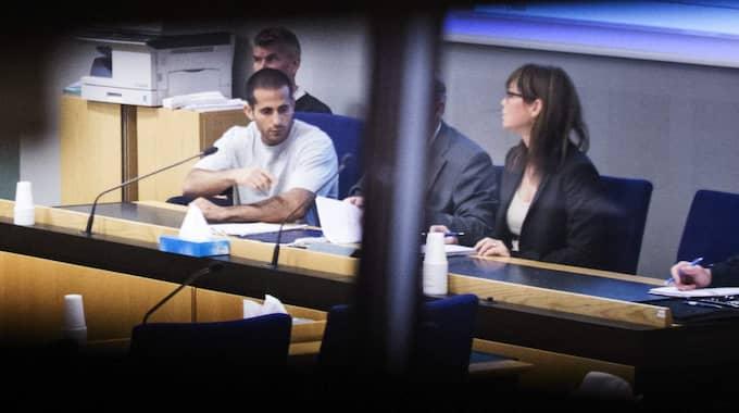 Mark Saliba dömdes till livstids fängelse för trippelmordet i Uddevalla. Foto: Robin Aron