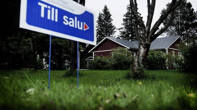 Villamarknaden går fortsatt stark och priserna steg i hela riket den senaste månaden, förutom i Stockholm. Foto: Christian Örnberg/TT NYHETSBYRÅN